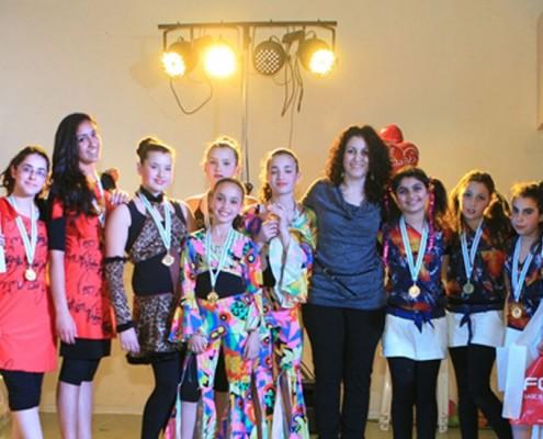 תחרות לרקדנים בגיל העשרה